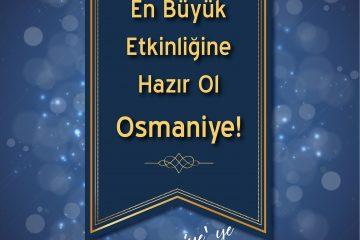 osmaniye etkinlik